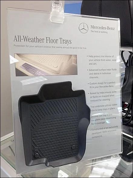 Mercedes Benz Floor Mat Miniature Main