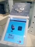Moleskine In-Store iPad Closeup