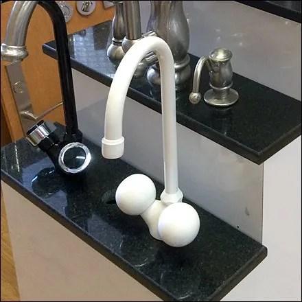 Ballsy Faucet Design and Merchandising