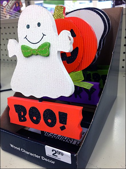 Halloween Ghost Says Boo! Aux