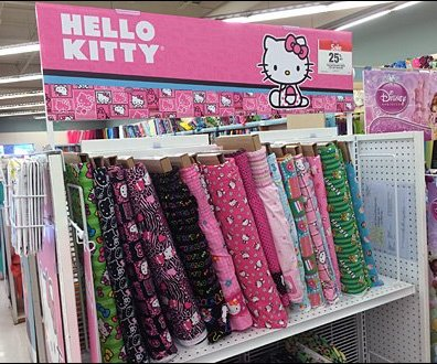 Hellow Kitty Fabric Choices Aux