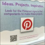 Pinterest Entry Sign at JoAnns Fabric