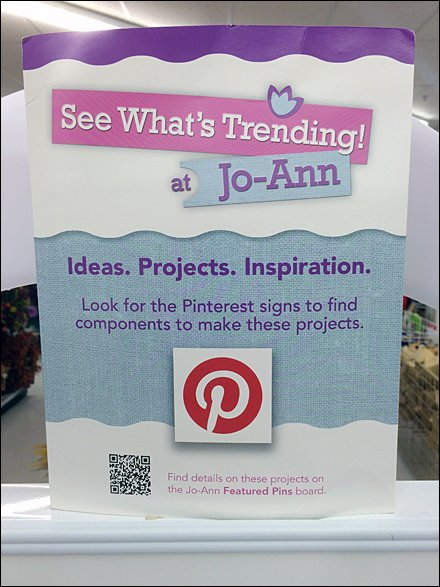Jo-Ann Fabric and Crafts Store Fixtures - See Whats Trending At JoAnn Main
