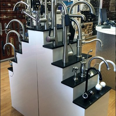 Stepped Faucet Stairway Showroom Display
