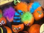 Troll Doll Pumpkins for Halloween