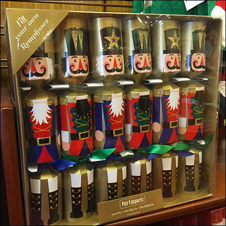 Christmas Crackers at Pier 1 – Fixtures Close Up