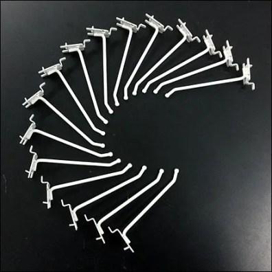 Single-Lug Hooks / One-Hole Pegboard Hooks