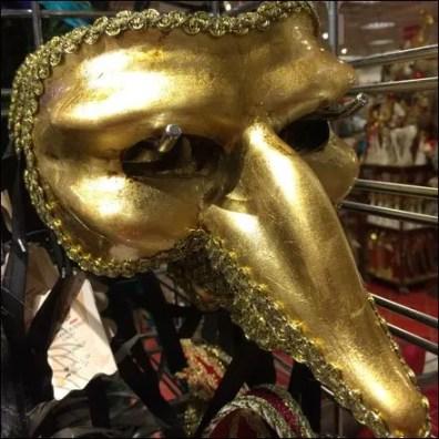 Masquerade Ball Masks Slatwall Hooked 4