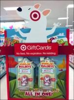 Target Bobble Head Gift Card 1