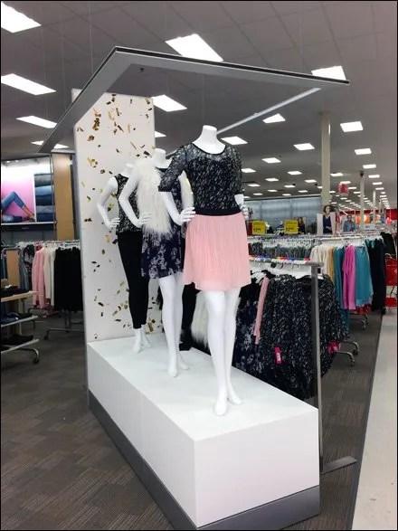 Target Fashion Runway and Pergola