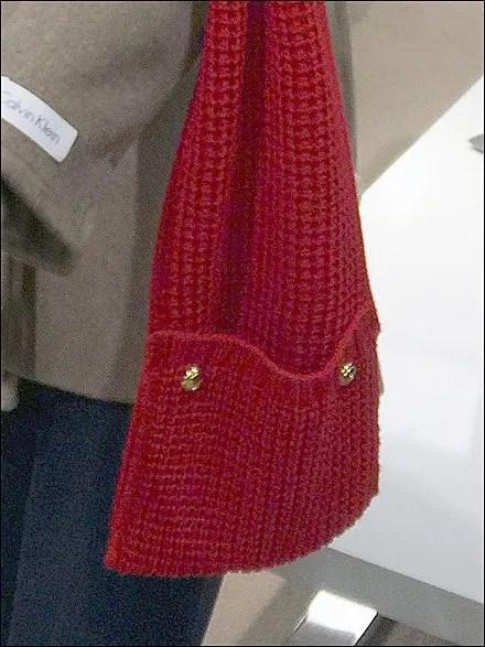 Calvin Klein Scarf Pocket Display Detail