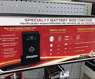 Energizer Battery Size Checker Main