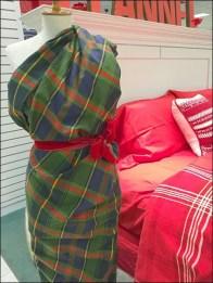 Flannel Dress Form Sari 2