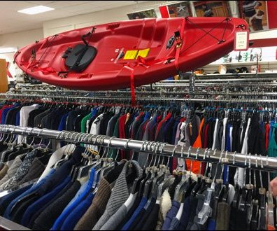 Kayak Clothing Cross Sell Aux