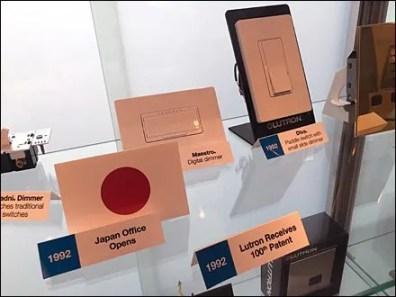 Lutron Showroom Branded Timeline