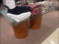 Macys Barrel-Based Table Display 1