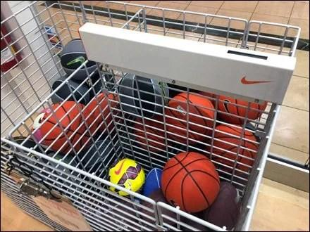 Nike Branded Open-Wire Bulk Bin For Balls