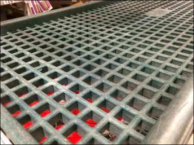Plastic vs Grid vs Expanded Metal Transport Cart
