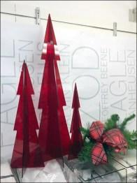 Christmas Tree in Red Plexiglass
