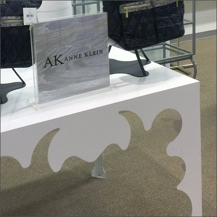 Anne Klein Wonderland Table Curve Detail