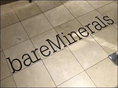 Bare Minerals® Department Branding CloseUp