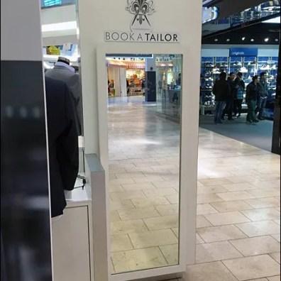 Book A Tailor Kiosk Mirror 1