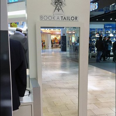 Book A Tailor Kiosk Mirror 2
