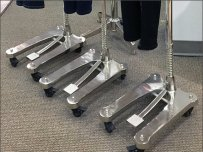 Chrome Plated Floor Stands 1