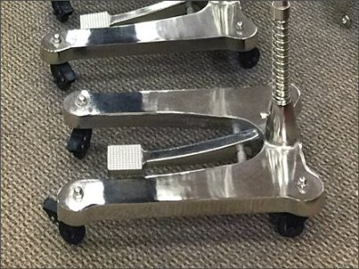 Chrome Plated Floor Stands 2