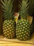 Dole Pineapple Pyramid Closeup