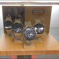 Fossil Plug-in Wood Watch Bases Aux
