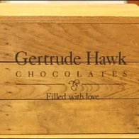 Gertrude Hawk Stacked Wood Crates Detail
