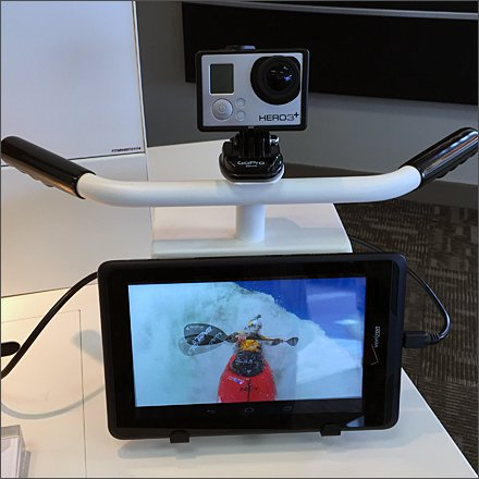 GoPro Faux Handlebar Display