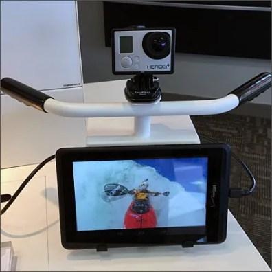 GoPro Hero3 HandleBar Mount Front Main