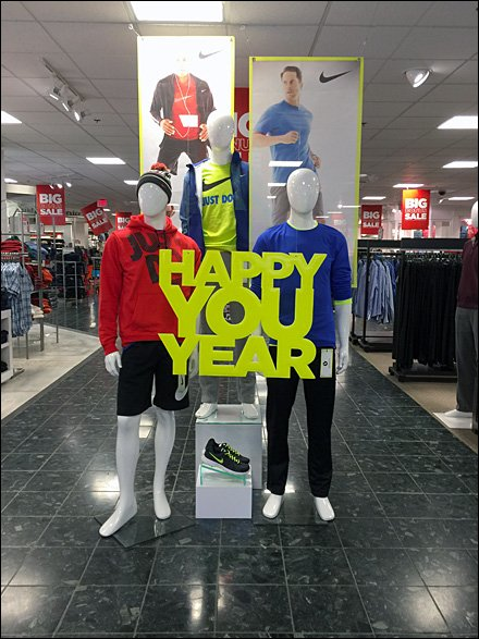 Happy You Year Greeting
