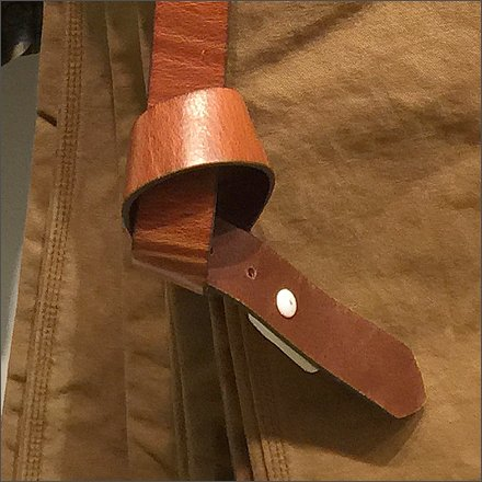 How to Tie a Gap Belt Knot