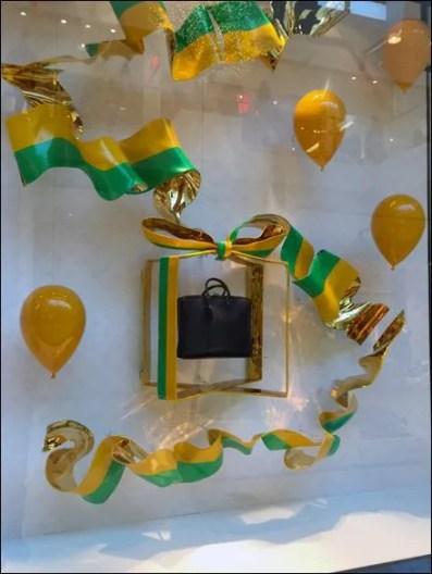 Louis Vuitton Party Gift Wrap Window Dressing