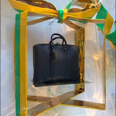 Louis Vuitton Party Gift Wrap Window Dressing