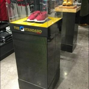 Museum Case Shoe Pedestal