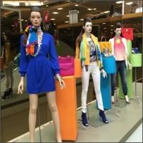 Fabric Fixtures in Retail