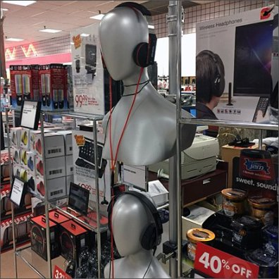 Silver Headphone Headforms 1