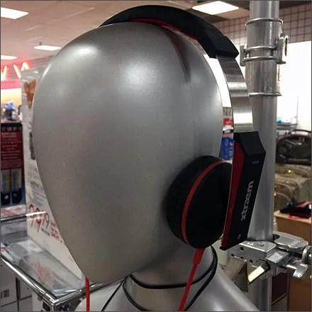 Silver Headphone Headforms 3