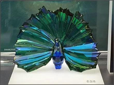 Swarovski Crystal Peacock 3