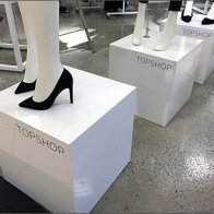 TopShop Branded Pedestals Detail