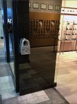 Uno de 50 Branded Store Entry Padlock Door Pull