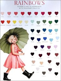 Chasing Rainbows Color Samples 1