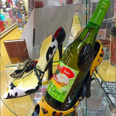 High Heel Wine Bottle Caddy 3