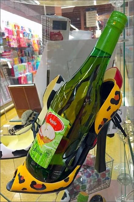 High Heel Wine Bottle Caddy Main