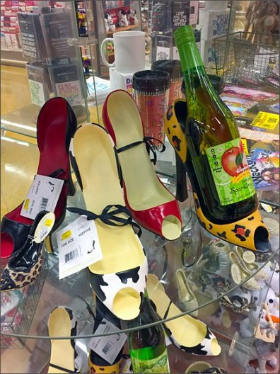 High Heel Wine Bottle Caddy Main.jpgHigh Heel Wine Bottle Caddy 2