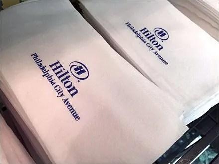 Hilton Branded Paper Towels